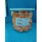 Syringe Filter PTFE (hydrophobic) 0.45um 25mm Orange Certificate 1