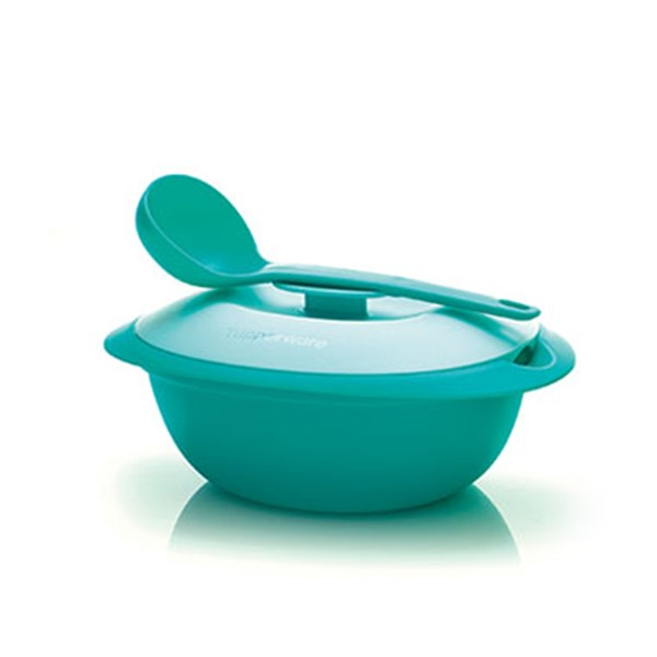 284 Blossom Soup Server with Ladle