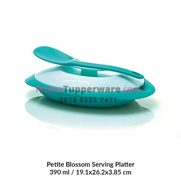 339 Petite Blossom Serving Platter with Spoon