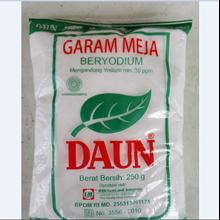Garam Meja Daun Beryodium