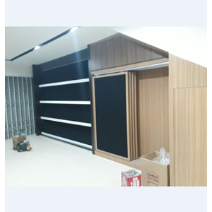 Booth Display Showroom Kayu