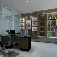 Interior Design Room Set Ruang Kerja