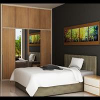 Interior Design Room Set Tempat Tidur
