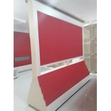 Booth Display Kayu 1