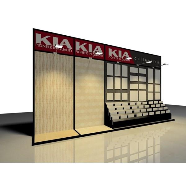 Booth Display Kayu 8