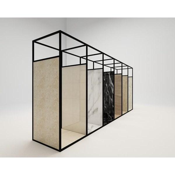 Booth Display Kayu 11