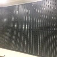 Panel Plat Lobang Display Tile