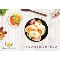 Flower Shape Garlic Crackers