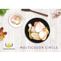 Sell Multicolor Circle Garlic Crackers