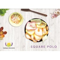 Sell Square Polo Shape Garlic Crackers