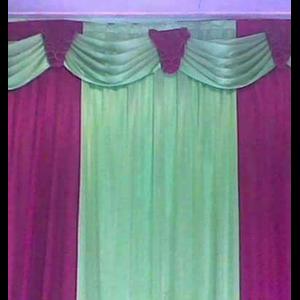 Dekorasi Background Tenda