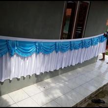 Rumbai Tenda Biru Putih
