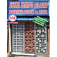 Jual Jual  Batu Alam Roster Beton / Lubang Angin LA 02  Di Medan