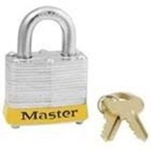 Master Lock 3RED Keyed Different Steel Safety
