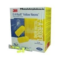Pelindung Telinga Earplug Yellow Neon 3M 312-1250