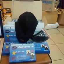 Pelindung Wajah Masker Anti Polution Active