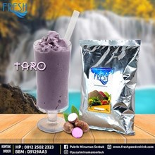 Minuman Serbuk Fresh rasa Taro
