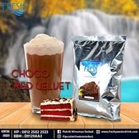 Jual Minuman Serbuk Fresh rasa Choco Red Velvet