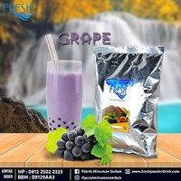 Minuman Serbuk Fresh rasa Grape