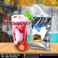 Jual Minuman Serbuk Fresh rasa Red Strawberry