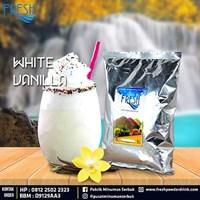 Minuman Serbuk Fresh rasa White Vanilla