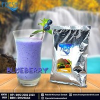 Jual Minuman Serbuk Fresh rasa Blueberry