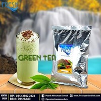 Minuman Serbuk Fresh rasa Green Tea
