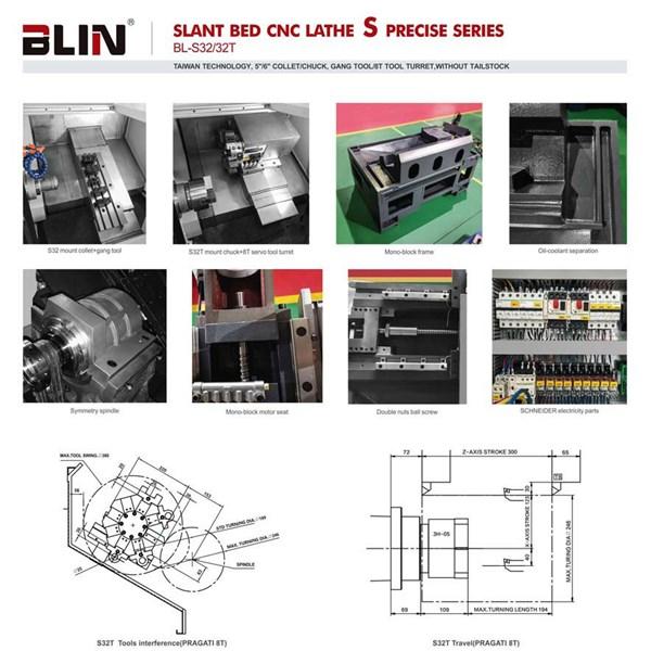 CNC Lathe BL-S 32