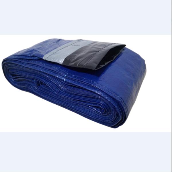 Blue Tarpaal Hose