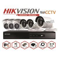 Jual PAKET KAMERA CCTV 6CHANEL FULL HD 2MP