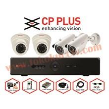 PAKET KAMERA CCTV 4 CHFULL HD CPPLUS
