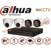 Jual PAKET KAMERA CCTV 4 CHFULL HD DAHUA