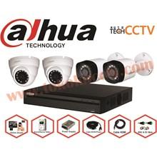 PAKET KAMERA CCTV 4 CHFULL HD DAHUA
