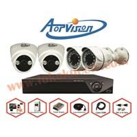 Jual PAKET KAMERA CCTV 4 CHFULL HD AOP