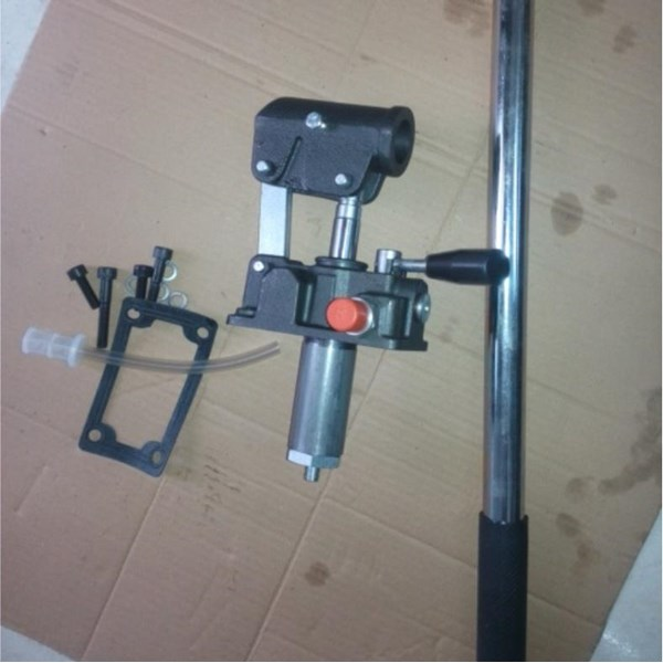 Integral Solari Double Acting Hidrolik Manual Hand Pump