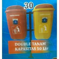 Tempat Sampah Double Tanam