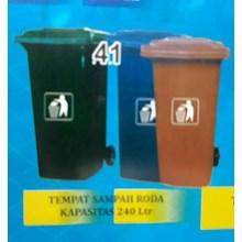 Tempat Sampah Roda 240 Liter