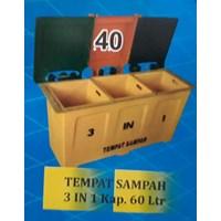 Tempat Sampah 3in1 Kapasotas 60 Liter
