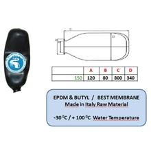 Karet Membrane Pressure Tank 150 Liter