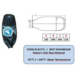 Karet Membrane Pressure Tank 200 Liter