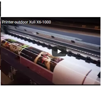 Printer Outdoor Xuli X6-1000