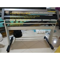 Mesin Cutting Plotter Sticker GRAPHTEC CE6000-120 With Stand