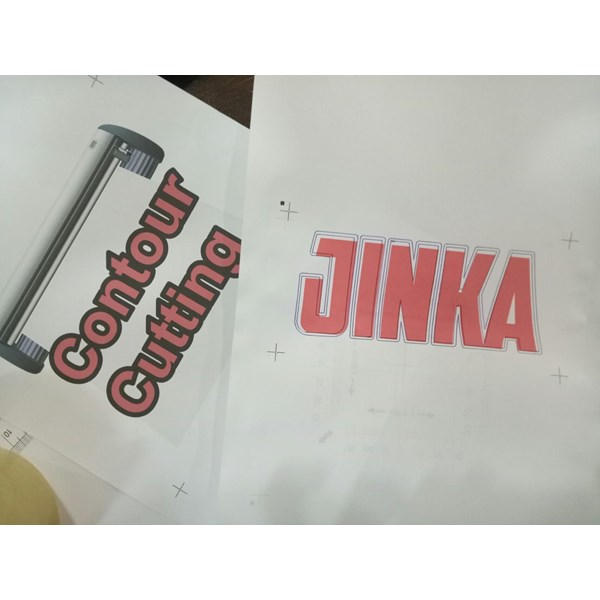 Mesin Cutting Sticker JINKA Pro 3 plus Cutting Countur