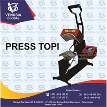 Mesin Heat Press TOPI