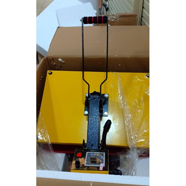 Mesin Press Sablon Kaos High Pressure 40 x 60cm 1800 watt