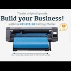 Mesin Cutting Sticker GRAPHTEC CE Lite-50 New 5