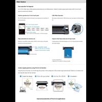 Distributor Mesin Cutting Sticker GRAPHTEC CE Lite-50 New 3