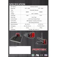 Distributor Mesin Press / Hot press Digital Sablon Kaos FORTEX FTX-3838 880Watt 3