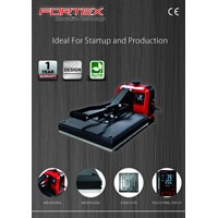 Beli Mesin Press / Hot press Digital Sablon Kaos FORTEX FTX-3838 880Watt 4