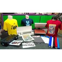 Mesin Sablon Digital Kaos Distro/Jersey/Kain PAKET USAHA Lengkap